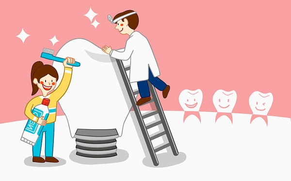 zweiteiligen Dentalimplantaten
